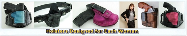 Holsters Desgined for Each Woman