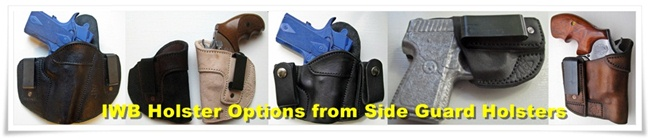 Side Guard Holsters IWB Holster Options