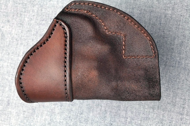 j frame iwb holster with double snap connection reinforced iwb for smith